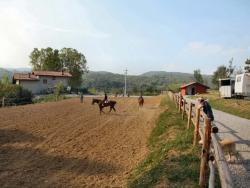 équitation dans le Piémont