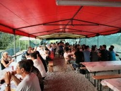 Camping a Priero